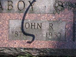 John R McAboy