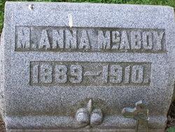 M Anna McAboy