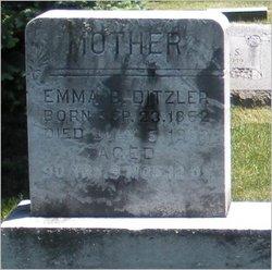 Emma B <i>Stief</i> Ditzler
