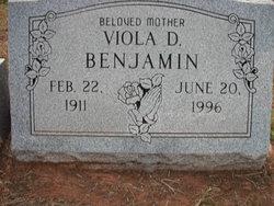 Viola D Benjamin