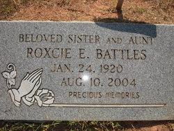 Roxcie E Battles