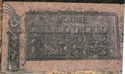 Delsie Delila <i>Harris</i> Dickson