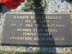 Sgt Randy D. McCaulley