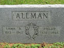 Emma B. <i>Whitmer</i> Allman