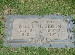 Nellie May Gibson
