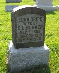 Edna <i>Cripe</i> Burger