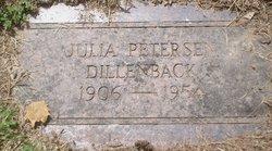 Julia <i>Petersen</i> Dillenback