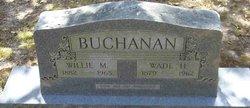 Willie Mae <i>Roberts</i> Buchanan