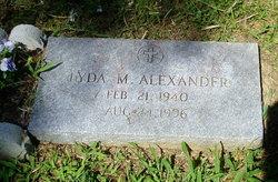 Lyda M . Alexander