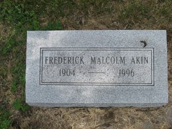 Dr Fredrick Malcom Akin