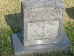 Nellie <i>Deweese</i> Annis