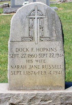 Narah Jane <i>Russell</i> Hopkins