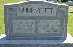 Bessie May <i>Thompson</i> Huneycutt