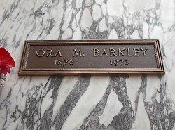 Ora Martha <i>Crew</i> Barkley
