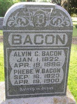 Phebe W <i>Briscoe</i> Bacon