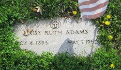 Daisy Ruth <i>Huddleston</i> Adams