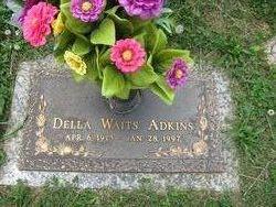 Della <i>Bowman</i> Adkins