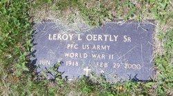 Leroy L Oertly, Sr