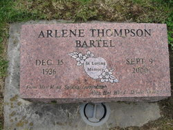 Arlene <i>Thompson</i> Bartel