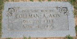 Coleman Augustus Akin