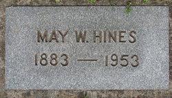 May Wilhelmina <i>Dunn Seidel</i> Hines