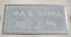 Lola B Freeman