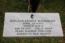 Donald Ernest Blomquist