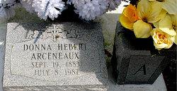 Donna <i>Hebert</i> Arceneaux