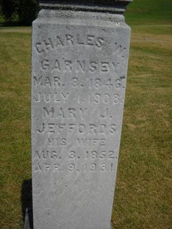 Mary J <i>Jeffords</i> Garnsey