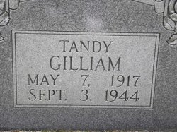 Tandy Gilliam, Sr