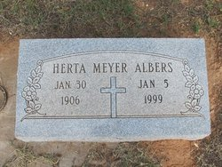 Herta <i>Meyer</i> Albers