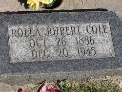 Rolla Rupert Cole