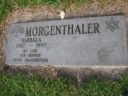 Barbara Morgenthaler