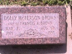 Dolly <i>McFerson</i> Brown