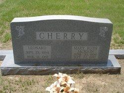 Mary Ruth <i>Jackson</i> Cherry
