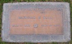 Martha K. Ball