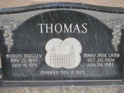 Mary Jane <i>Lamb</i> Thomas