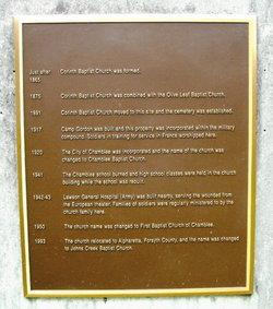 Johns Creek Baptist Church Cemetery