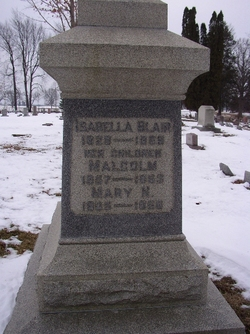 Isabella <i>Perkey</i> Blair
