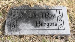 Dr Albert Ross Burgess