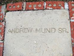 Andrew Mund, Sr