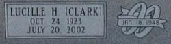 Lucille H <i>Clark</i> Abell