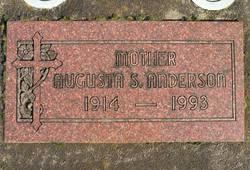 Augusta Sophia <i>Dietz</i> Anderson