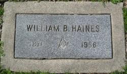 William B Haines