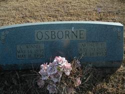 Clara Winnie <i>Freeman</i> Osborne