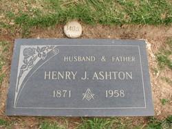 Henry James Ashton