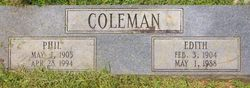 Edith <i>May</i> Coleman