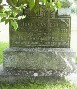 Martha <i>Campbell</i> Haskett