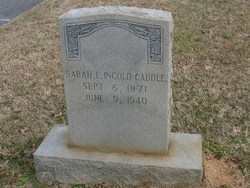 Sarah L <i>Ingold</i> Caudle