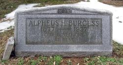 Alpheus Henderson Burgess